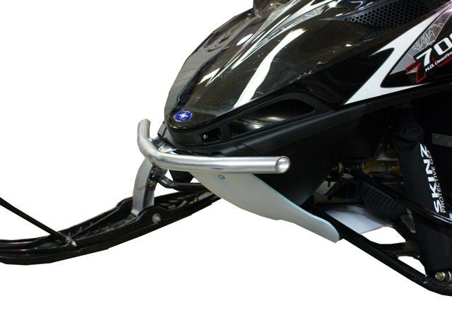 Skinz Chromalloy Front Bumper Flat Black for Polaris AXYS 2019-2020 PFB400-FBK
