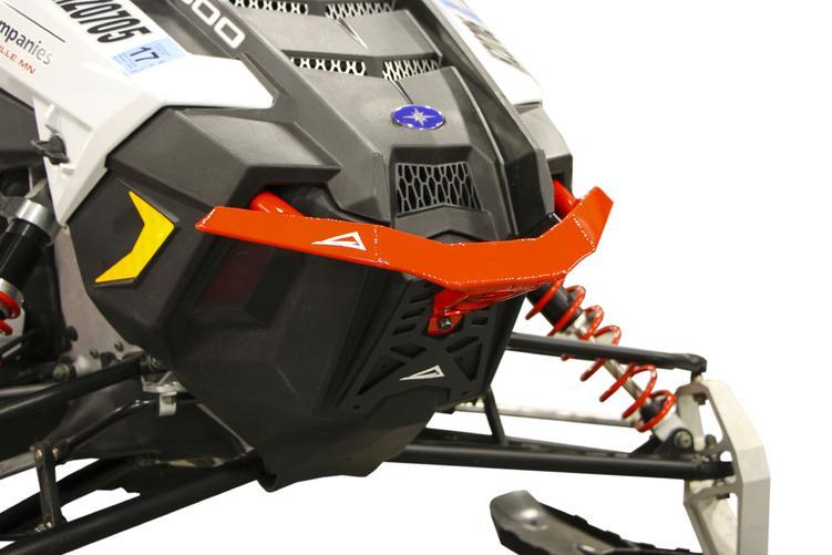 Front Bumper Black For 2014 Polaris 800 PRO-RMK 163 Snowmobile