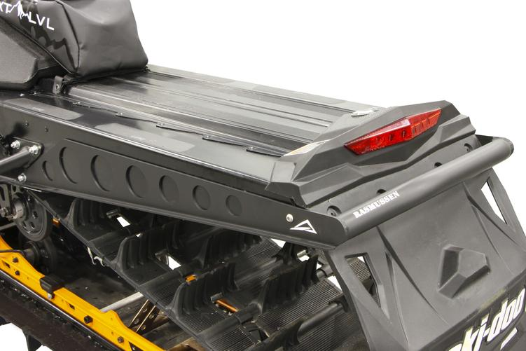 Flat Black NXPRB405-FBK Skinz Protective Gear Rear Aluminum Bumper